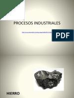 Procesos Industriales de Minerales en Chile