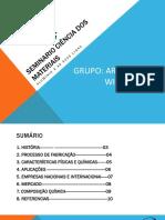 SEMINARIO ALUMÍNIO