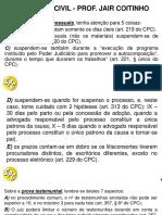 CPC - Jair Coitinho - Dicar Importantes Sobre Topicos Que Caem - TJRS