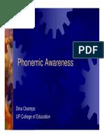 Phoneme Awareness