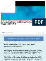 Leveraging Basel and Stress Testing Models for Cecl and Ifrs 9