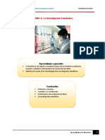 La Investigacion Estadistica - 2