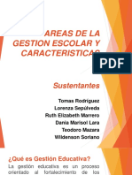 Areas de La Gestion Escolar