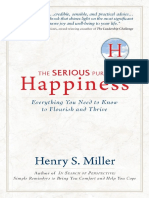 The Serious Pursuit of Happiness