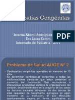 Cardiopatías Congénitas Acianoticas 2017.pptx