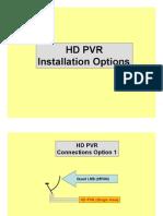 HD PVR - Installation Options