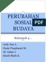 Perubahan Sosial Budaya (2)