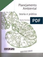 Planejamento Ambiental Teoria e Pratica