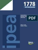 TRANSFERÊNCIAS FEDERAIS A ENTIDADES_IPEA_TD_1778.pdf