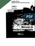 PINHO e VASCONCELLOS - Manual de Introducao a Economia IV