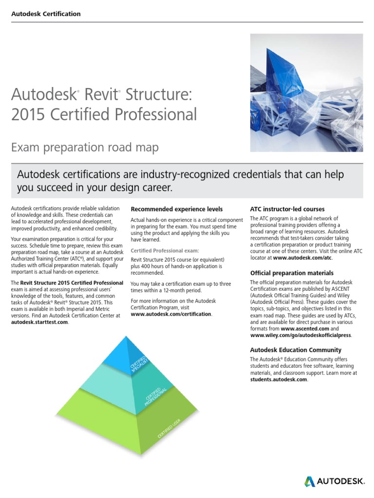 Autodeskrevitstructure2015certificationroadmappdf Autodesk