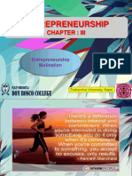 Unit 3 Entrepreneurship Motivation 2