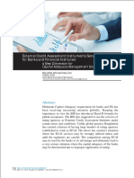 External Credit Assessment Instruments Services