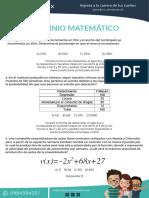 Dominio matematico ser bachiller