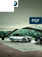 BMW E39 Brochure 2003 Euro