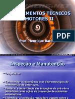 Aulaiii - Conhecimentos Técnicos III - Inspeção e Manutenção