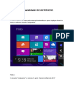 Restauracion Windows 8 Desde Windows