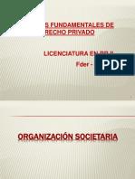 ORGANIZACION SOCIETARIA