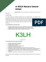 Pengertian K3LH Secara Umum Dan Tujuannya