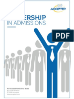 Leadership in Admissions (1)