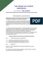 Sistemas Diesel Con Control Electrónico