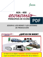 Sesión 6-AEA400 Los Bienes y Los Sistemas de Producción