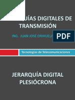 Jerarquias Digitales de Transmisión