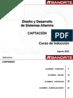 Curso Inducción II Generalidades de Altamira v3