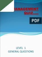 Management Quiz