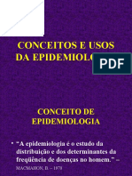 Aula de epidemiologia