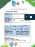Guía de Actividades y Rúbrica de Evaluación - Tarea 1 - Identificar Fuentes de Contaminación y Sus Impactos