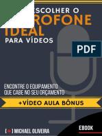 E Book Como Escolher Microfone Para Videos