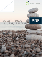 Mind, Body, Spirit Guide - Gerson Therapy