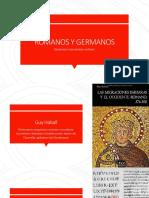 Romanos y Germanos