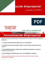 Formalización Empresarial - Exposicion