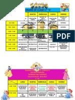2016-2017  1°A  HORARIO DE CLASES - copia