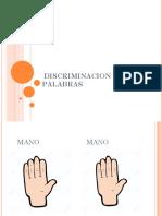 DISCRIMINACION DE PALABRASS.pptx