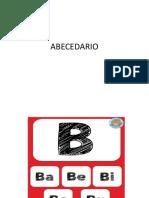 abecedario consonantes