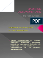 Marketing Agroalimentario