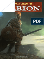 Warhammer Fantasy 9th Edition - Forces of Order - Albion
