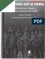 FONTANA, JOSEP - La Historia Que Se Piensa (Conferencias, Clases y Conversaciones en Chile) [Por Ganz1912]