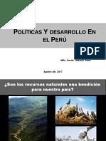 Politicas y Desarrollo en El Peru - Foro - TALAVERA