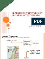 2 El Misterio Trinitario en El Antiguo Testametno