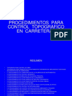 Control Topografico