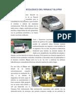06 El Diseño Ecológico Del Renault Ellypse