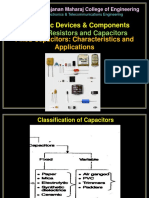 Fixed Capacitors - Characteristics and Applications