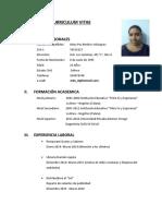 Curriculum Vitae Mpaz