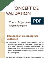 Le concept de validation.pdf