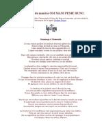 Les Bienfaits Du Mantra OM MANI PEME HUNG (Texte de Padma Karpo)