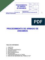 4.Procedimiento Armado de Andamios